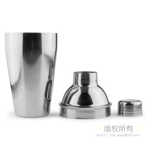 Sliver Metal Bar Shaker Cocktail Shaker Martini Shaker Wine Shaker pictures & photos
