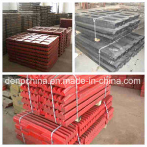 High Manganese Steel Casting Jaw Plate for Export pictures & photos