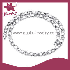 Latest Design Stainless Steel Necklace Jewelry (2015 Gus-Stn-013)