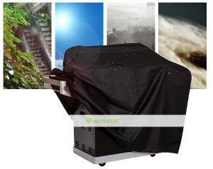 Waterproof BBQ Grill Cover for Outdoor Kitchen (WH-D665)
