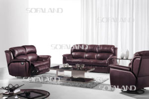 6 Seater Sofa Set with Recliner for Living Room pictures & photos