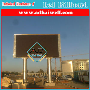 Full Color P10 LED Viedo Screen Advertising Outdoor Billboard Display Structure pictures & photos