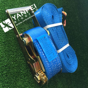 75mm/10000kg Ratchet Tie Down for Lashing pictures & photos