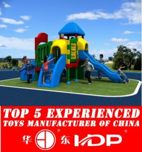 Used Plastic Playground Slides for Kids (HD14-125D) pictures & photos