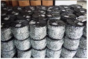 Shandong Province Manufacturer Ordianary Mild Steel Medium Welded Link Chain pictures & photos