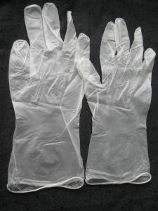 Disposable Transparent Color Vinyl Exam. Gloves pictures & photos