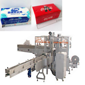 Facial Tissue Paper Packing Machine Automatic Tissue Packaging Machine pictures & photos