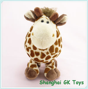 Baby Toys Fat Giraffe Valentine Giraffe Plush Toy pictures & photos