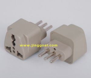 Italy Plug Adapter (JCA297) pictures & photos