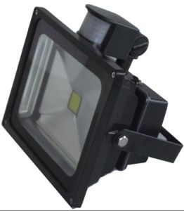 Outdoor 10W/20W/30W/50W PIR Motion Sensor Floodlight Induction Sense LED Flood pictures & photos