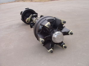 14t Spokes German Type Axle with Square Spider Tube Hub pictures & photos