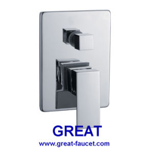 Square Concealed Shower Mixer with Divertor pictures & photos
