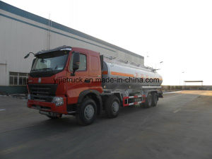 Heavy Capacity Sinotruk HOWO 8X4 35m3 Fuel Tanker Truck pictures & photos