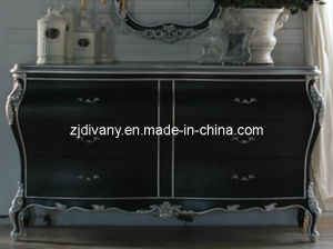 New Classics Style Living Room Display Wooden Cabinet (1305) pictures & photos