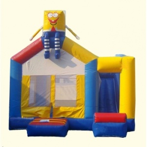 4-in-1 Inflatable Bouncy Castle Jumper Slide Bounce House Combo Jw0825-7 pictures & photos