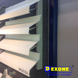 Popular Acoustic Aluminum Window Louver for Building Cladding