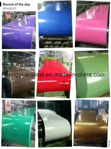 Ral System Z30-275 PPGI Color Coated Galvanized Steel Coil pictures & photos