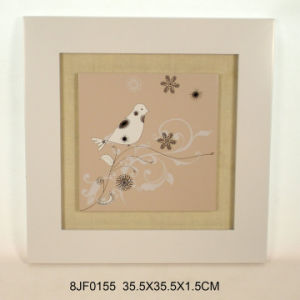New Wooden Bird Wall Plaque in MDF pictures & photos