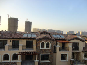 Solar Hot Water Heating System (flat plate solar collector) pictures & photos