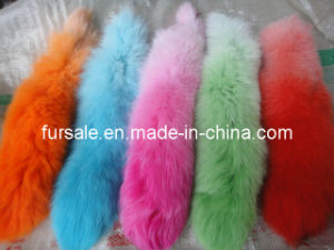 Fox Tail Key Holder / Fox Fur Key Holder (key holder-17)