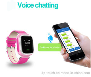 Smart Sos Mobile GPS Watch Tracking Watch with LCD Display (Y7) pictures & photos