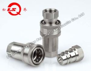 Lsq-S1-Ss Close Type Hydraulic Quick Coupling (SS316) pictures & photos