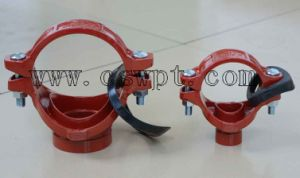 Ductile Cast Iron Grooved Fittings Grooved Mechanical Tee with UL&FM