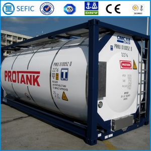 Hot Selling Cryogenic Liquid ISO Tank Container (SEFIC-T75) pictures & photos
