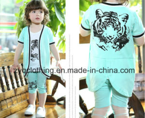 Kid′s Cotton Suit, Children′s Fashion Suit pictures & photos