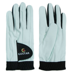 2015 New Style PU Synthetic Leather All Weather Golf Glove (PGL-52) pictures & photos