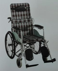 Steel Manual Wheelchair Dkb-21 pictures & photos