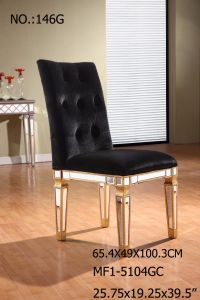 Dining Chair with Decorative Mirror for Living Room pictures & photos