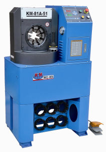 "Hydraulic 2"" Ruber Hose Terminal Pressing Crimping Machine for Agricultural Industry pictures & photos"