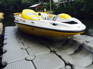 Inflatable Boat Floating Docks Pontoon pictures & photos
