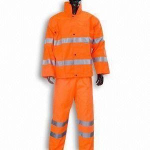 Orange Reflective Coverall Made of Oxford Fabric pictures & photos