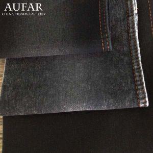 3241c193 Black Satin Denim Fabric for Garment Textile Jeans