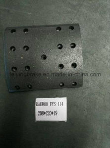 Brake Lining for Dawoo Bus R pictures & photos