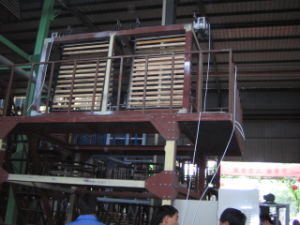 Double Head PE Film Blowing Machine (CE) pictures & photos