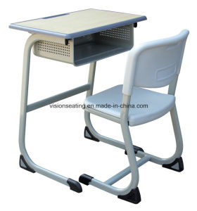 School Student Classroom Desk and Chair Set (7503) pictures & photos