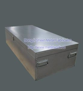 Custom Made Stainless Steel Galvanized Sheet Metal Boxes pictures & photos