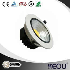 Modern Round Cut Hole 90mm SAA 9W10W LED COB Downlight pictures & photos