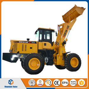 Post Hole Digger Front End Mini Payloader Mini Wheel Loader pictures & photos