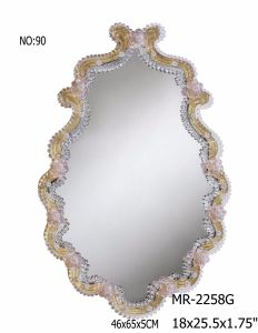 2017 New Crystal Wall Mirror pictures & photos