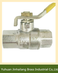 Lead Free Kizt Female Brass Ball Valve for Water Heating