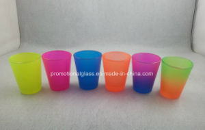 New Hot Neon Color Shot Glass for Promotional pictures & photos