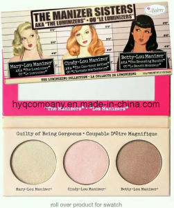 The Balm Hot Sale Makeup 3 Colors Highlighter Pressed Powder pictures & photos