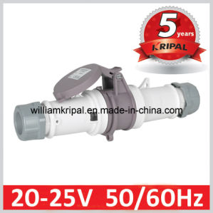 20-25V IP44 Low-Voltage Plugs and Receptacles pictures & photos