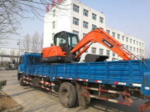 China New Mini Crawler hydraulic Excavator with ISO9001 Certificate pictures & photos