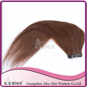 Glue Hair Extension Top Grade Virgin Remy Human Hair pictures & photos