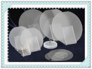 "Optical Sapphire Silicon Quatz 1′~8"" Wafer pictures & photos"
